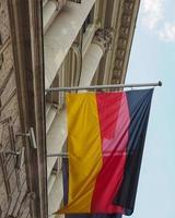 drapeau de l'Allemagne photo