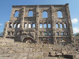 théâtre romain d'aoste photo