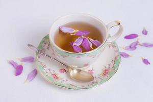 la composition sophistiquée du thé photo