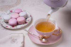 l'assortiment de thé élégant photo
