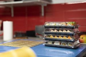 arrangement de commande de sushi cuisine de restaurant photo