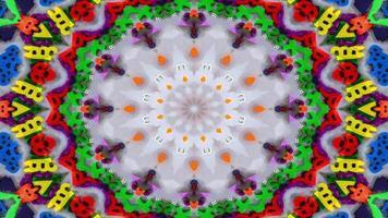 chiffres et lettres kaléidoscope photo