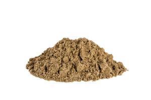 la texture rugueuse du sable photo