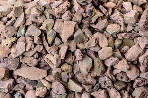 fond texturé abstrait en pierre concassée photo