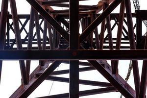 un pylône électrique à haute tension photo