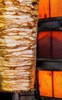 cuisine traditionnelle turque délicieuse viande de döner photo