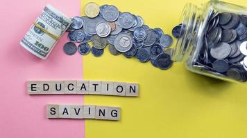 concept d'épargne-études photo