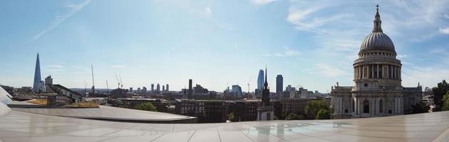 large vue panoramique de londres photo