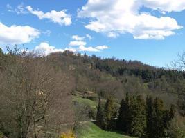vue sur les collines de turin photo
