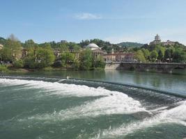 rivière po turin photo