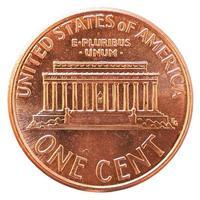 Pièce de 1 cent, États-Unis photo