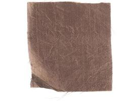 échantillon de tissu marron photo