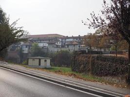 vue sur la ville de venaria photo