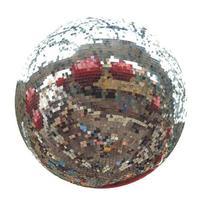 boule à facettes disco photo