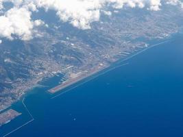 vue aérienne de génois photo
