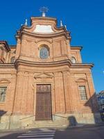 église de sant antonio signifiant saint anthony à chieri photo