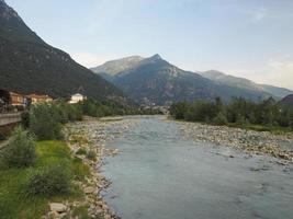 rivière dora baltea à donnas photo