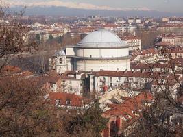Église Gran Madre Turin photo