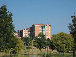 vue sur la ville de settimo torinese photo