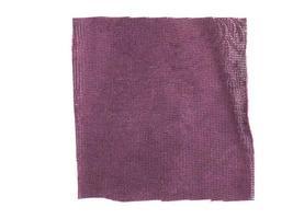 échantillon de tissu violet photo