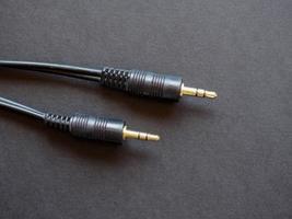 câble audio avec connecteur phono rca photo