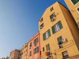 vieille ville de Gênes photo