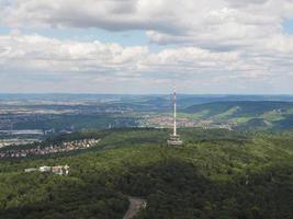 vue aérienne de stuttgart, allemagne photo