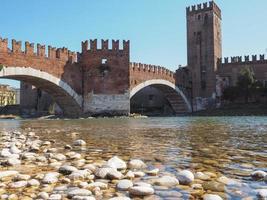 pont castelvecchio aka pont scaliger à vérone photo