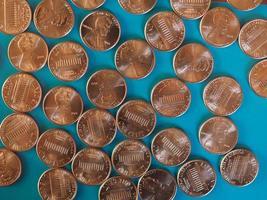 pièces d'un cent dollar, États-Unis photo