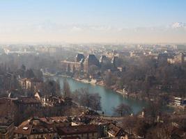 vue aérienne de turin photo