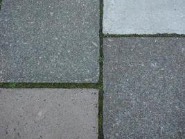 fond de trottoir en béton gris photo