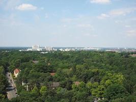 vue aérienne de berlin photo