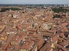vue aérienne de bologne photo