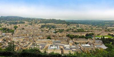 vue panoramique du bain photo