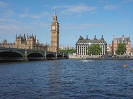 chambres du parlement à londres photo