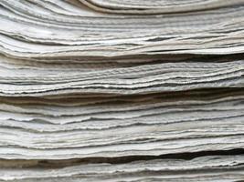 pile de journaux photo