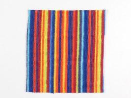 échantillon de tissu multicolore photo