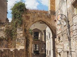 casteddu signifiant quartier du château à cagliari photo
