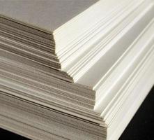 feuilles de papier vierges photo