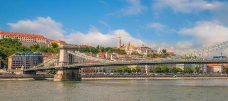 Skyline de Budapest en Hongrie photo