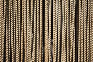 connexion abstraite des lignes de corde photo