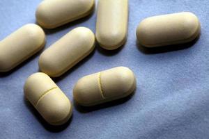 pilules médicales pour le concept de vie saine photo