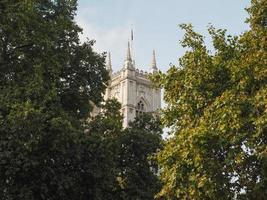 Église de l'abbaye de Westminster à Londres photo