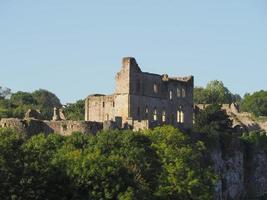 Ruines du château de Chepstow à Chepstow photo