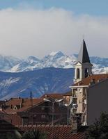 vue de settimo, italie photo