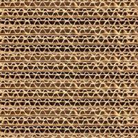 texture de carton ondulé photo