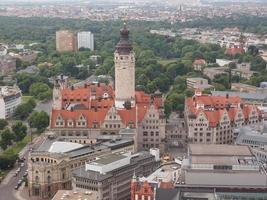 Neue Rathaus à Leipzig photo