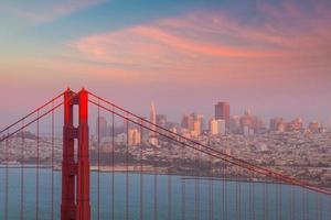 Pont du Golden Gate à San Francisco photo