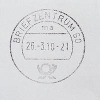 compteur postal allemand photo