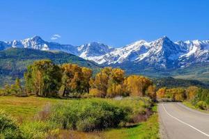 campagne saison d'automne au colorado, états-unis photo